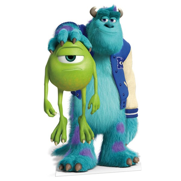 Disney Monsters University Sulley and Mike Cut Out
