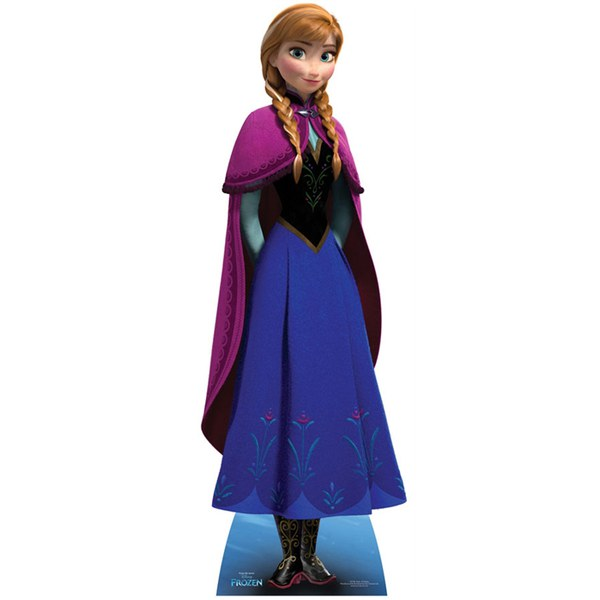 Disney Frozen Anna Cut Out