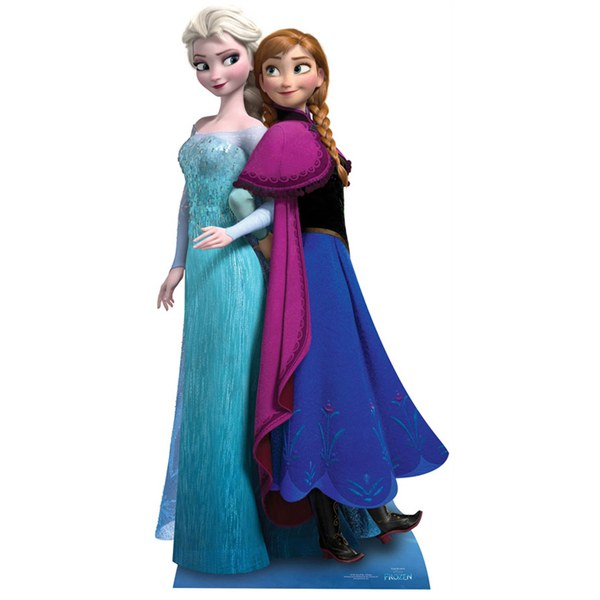 Disney Frozen Anna and Elsa Cut Out