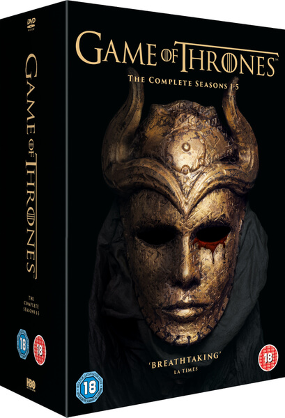 Game Of Thrones - Season 1-5 DVD | Zavvi.com