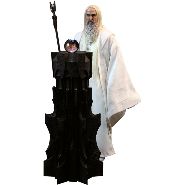 Sideshow Collectibles The Lord Of The Rings Saruman With Base 1:6 Scale Figure