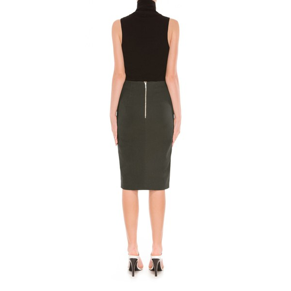9dbd9c904da Finders Keepers Women s Shapeshifter Midi Skirt - Khaki Womens ...