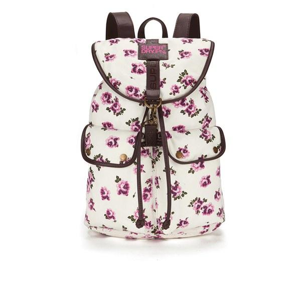 superdry women s bibra backpack   summer blush clothing