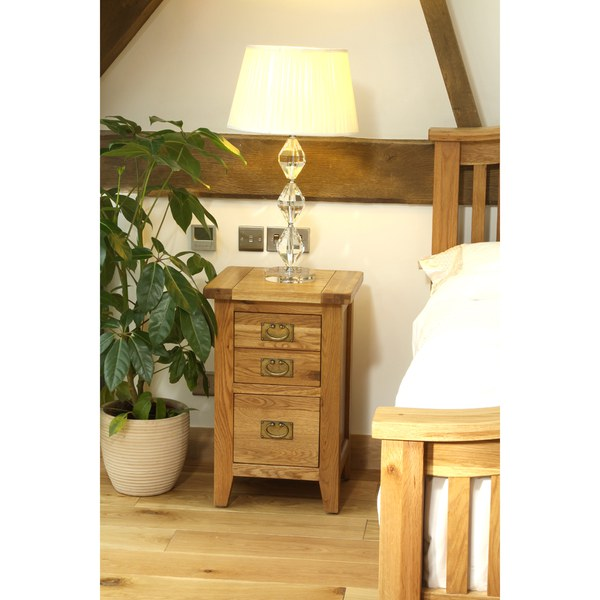 Cheap Kitchen Cabinets Vancouver: Vancouver Oak VXB001 Two Drawer Bedside Cabinet Homeware