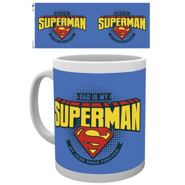 DC Comics Superman Dad is Superman - Mug