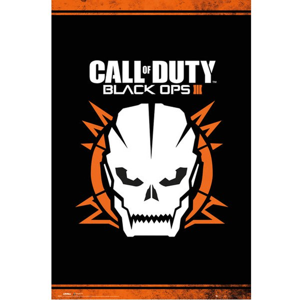 Call of Duty Black Ops 3 Skull - 24 x 36 Inches Maxi Poster