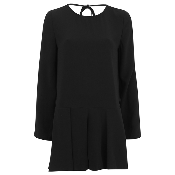 The Fifth Label Women's Sound and Vision Long Sleeve Playsuit - Black