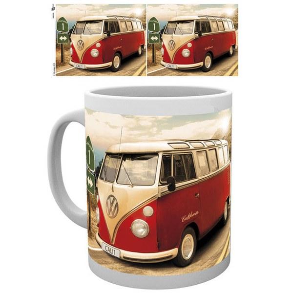 VW Camper Route One - Mug