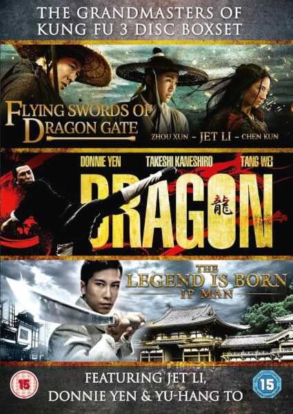 The Grandmasters Of Kung Fu: The Grandmaster, Dragon, Flying Swords Of Dragon Gate
