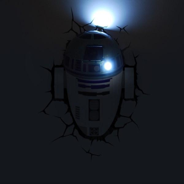 Star Wars R2 D2 3d Light Merchandise