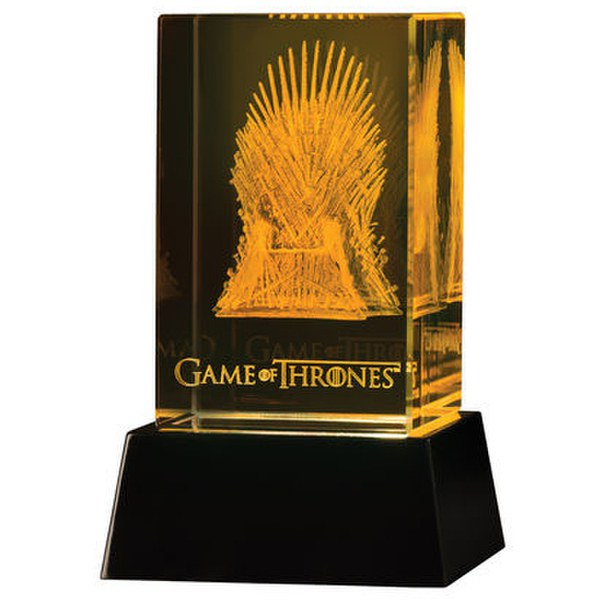 Dark Horse Game Of Thrones Glass Etching Iron Throne 3D LED Light