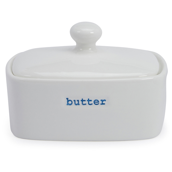 Keith Brymer Jones Butter Dish - White