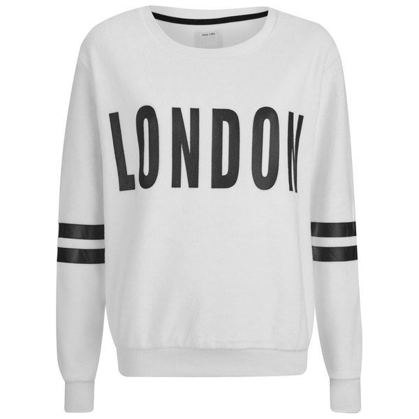 ONLY Women's Kerry Long Sleeve Sweatshirt - Cloud Dancer
