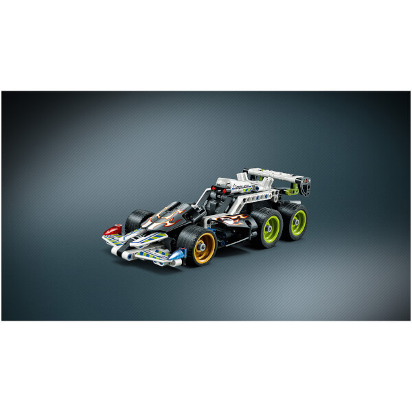 lego technic la voiture du fuyard 42046 toys. Black Bedroom Furniture Sets. Home Design Ideas