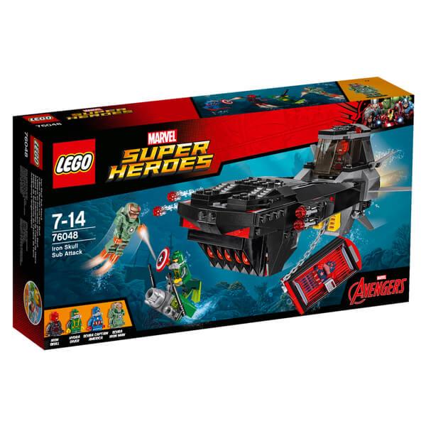 LEGO Marvel Super Heroes: Iron Skull Sub Attack (76048)