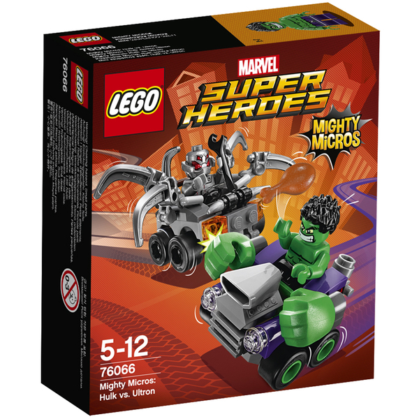 LEGO DC Vs. Marvel Mighty Micros: Hulk Vs. Ultron (76066)