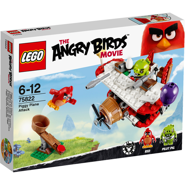 LEGO Angry Birds: Piggy Plane Attack (75822)