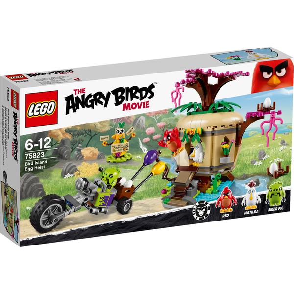 LEGO Angry Birds: Le vol de l'œuf de l'île des oiseaux (75823)