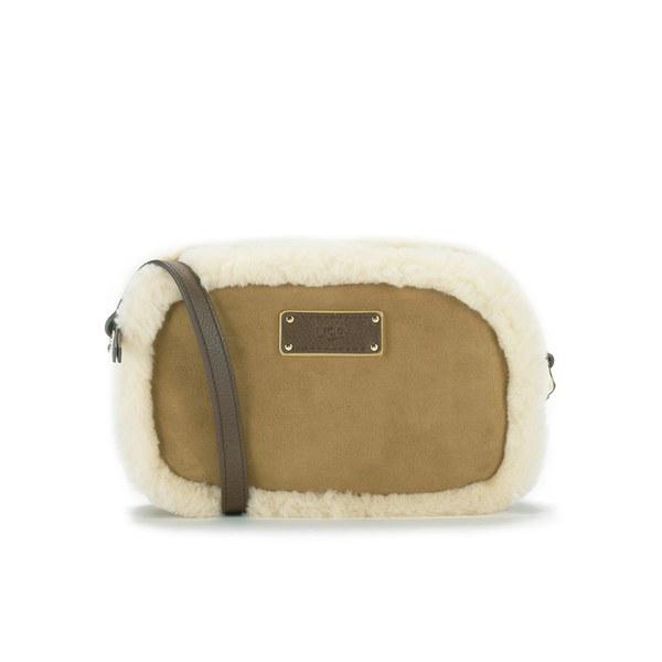 UGG Women's Jane Collection Seldon Cross Body Bag - Chestnut: Image 1