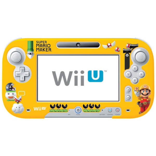 Super Mario Maker Gamepad Protector for Wii U Nintendo Official UK Store