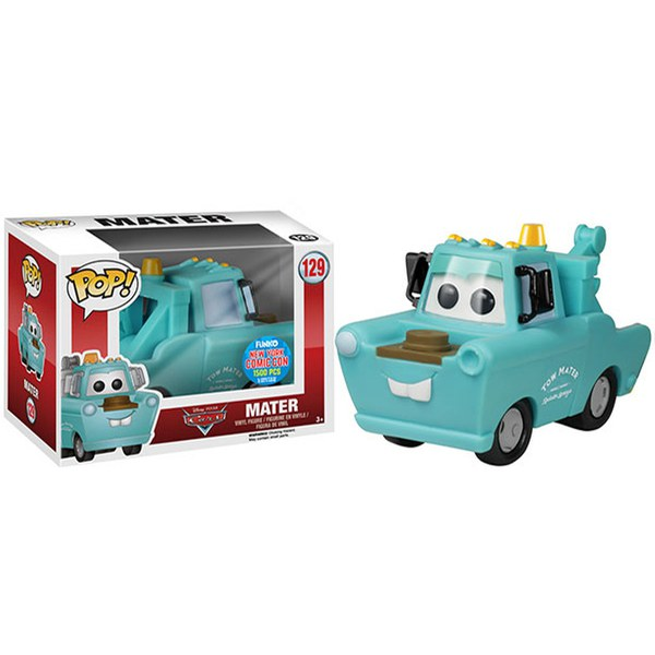 NYCC Disney Cars Mater Mint Exclusive 6 Inch Pop! Vinyl Figure
