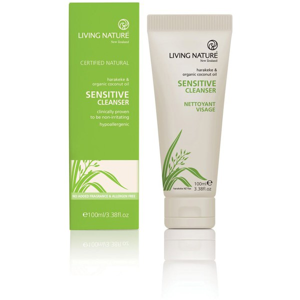 Living Nature Sensitive Cleanser (100 ml)