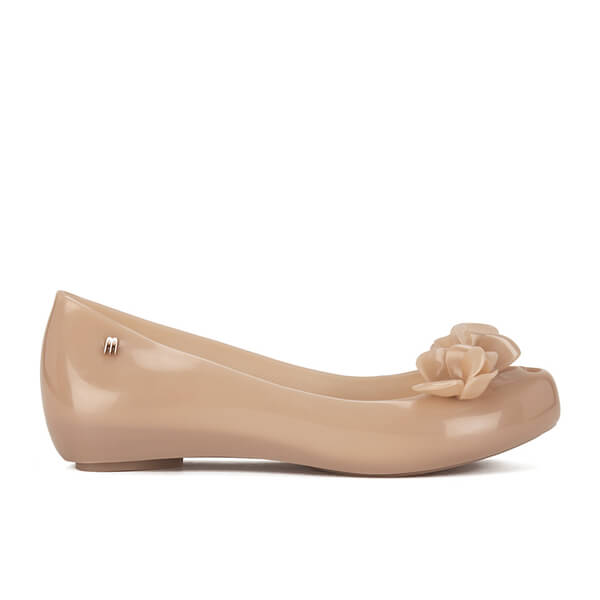 Melissa Women's Ultragirl Wonderful Flower Ballet Pumps - Blush