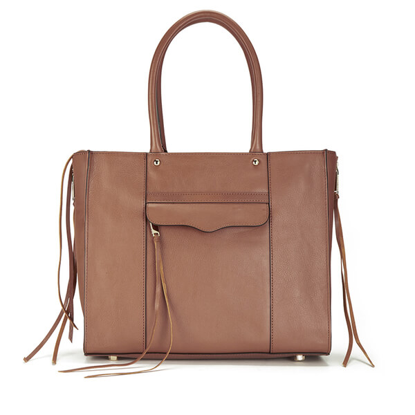Rebecca Minkoff Women's Medium MAB Tote Bag - Almond