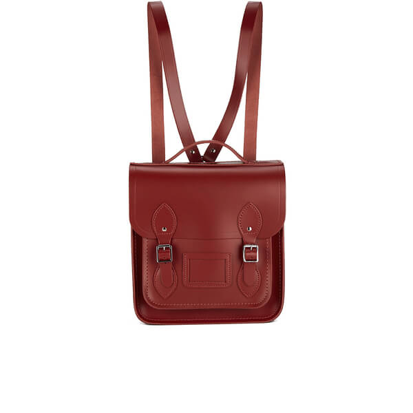 The Cambridge Satchel Company Women's Small Portrait Backpack - Red
