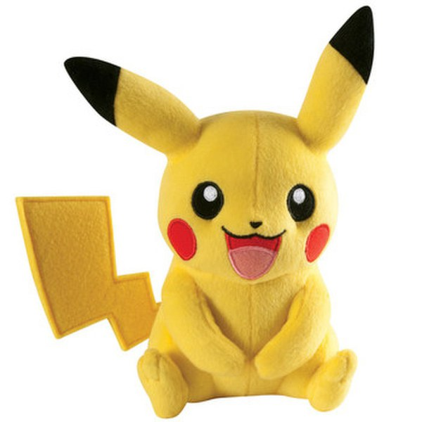 Pokémon Pikachu Soft Toy – Laughing Pose