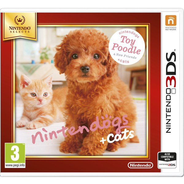 Nintendo Selects Nintendogs + Cats (Toy Poodle + New Friends) - Digital Download