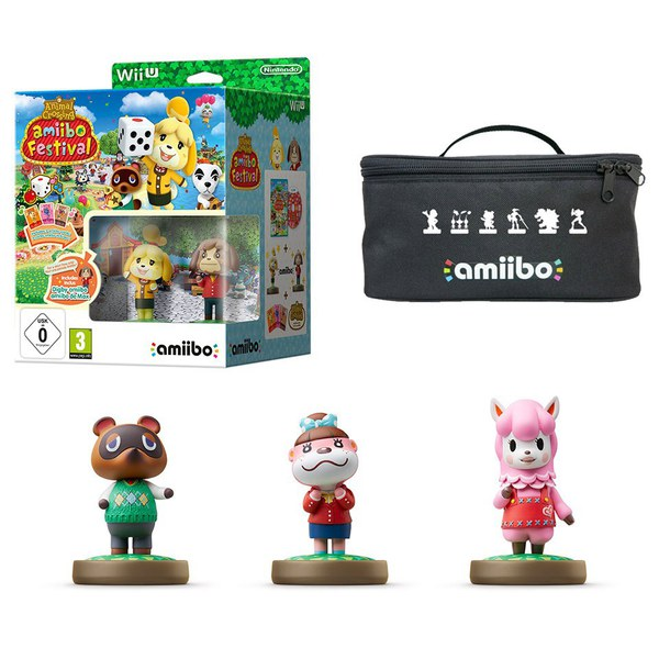 Animal Crossing: amiibo Festival amiibo Pack (Tom Nook + Reese + Lottie)