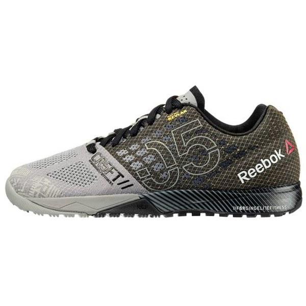 77ff7e6a1d179a Reebok Men s Crossfit Nano 5.0 Trainers - Grey Black