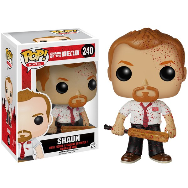 Shaun Of The Dead Bloody Shaun Entertainment Earth Exclusive Pop! Vinyl Figure