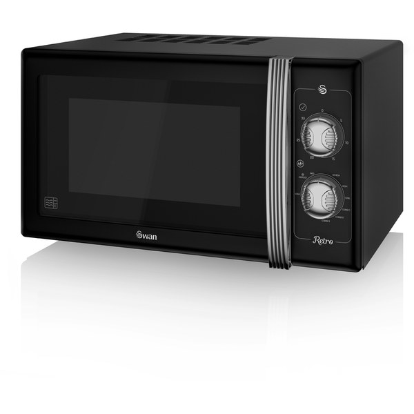 swan sm22070bn manual microwave black 900w iwoot. Black Bedroom Furniture Sets. Home Design Ideas