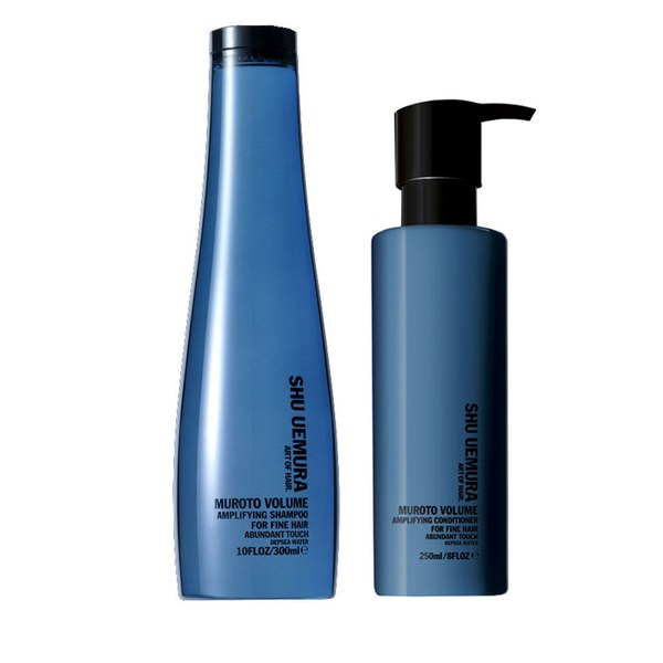 Shu Uemura Art of Hair Muroto Volume Pure Lightness Shampoo (300ml) och Conditioner (250ml)