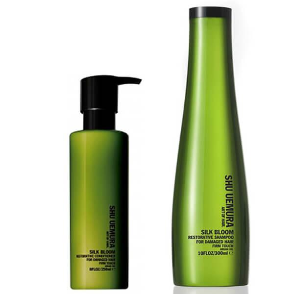 Shu Uemura Art of Hair Silk Bloom Shampoo (300ml) ogConditioner (250ml)