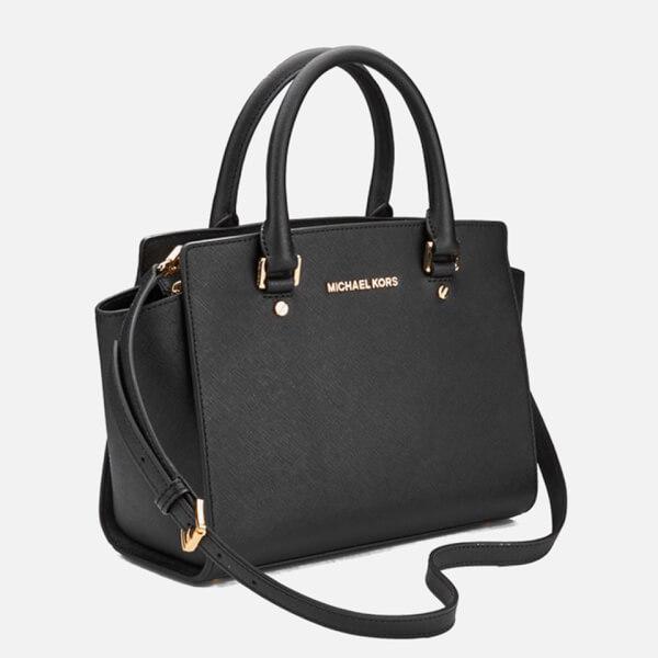 Michael Kors Selma Medium Laukku : Michael kors women s selma medium top zip satchel