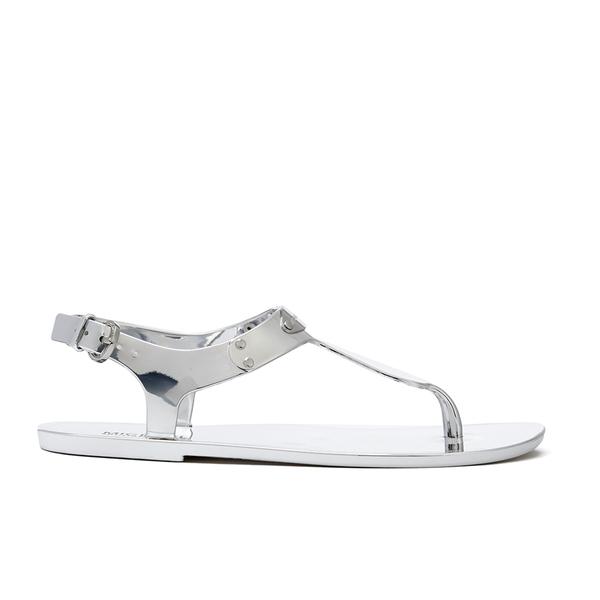 222ddb120 MICHAEL MICHAEL KORS Women's MK Plate Jelly Sandals - Silver | FREE ...