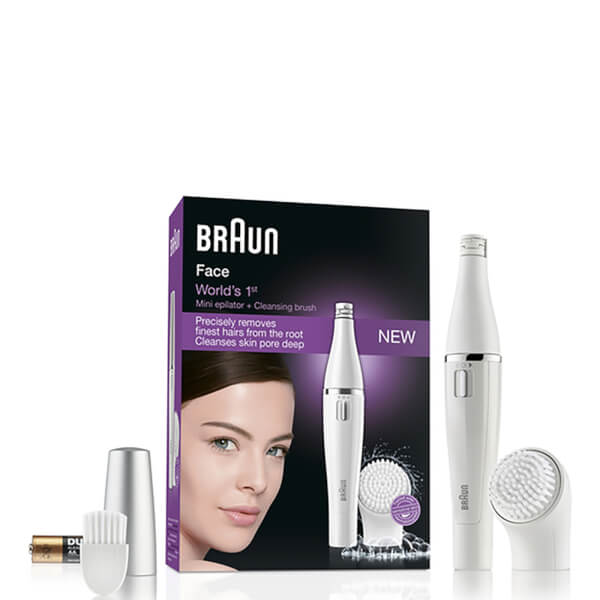 Braun 810 Facial Epilator and Cleansing Brush