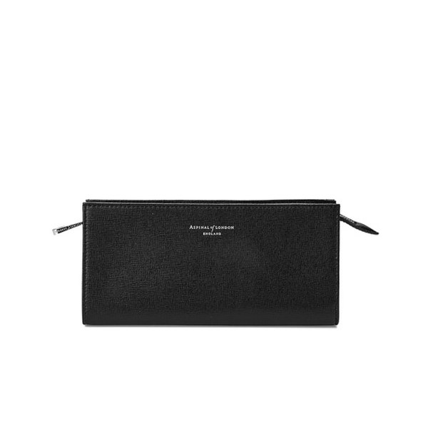 Aspinal of London Women's Small Cosmetic Case - Black