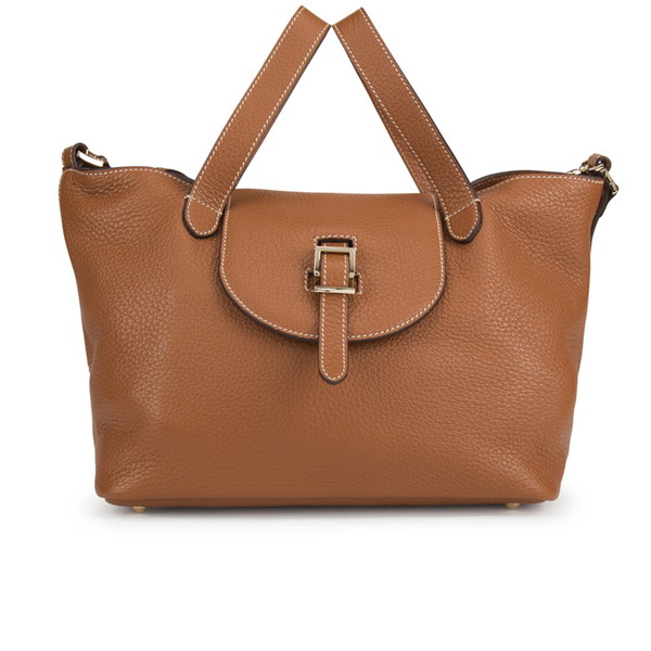 617a0148c943 meli melo Women s Thela Medium Tote Bag - Tan with Contrast Stitching   Image 1
