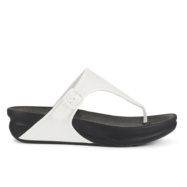 7cfb5fb4a FitFlop Women s Superjelly Toe Post Sandals - Urban White  Image 1