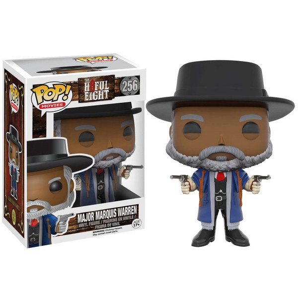 The Hateful Eight Marquis Warren Pop! Vinyl Figure