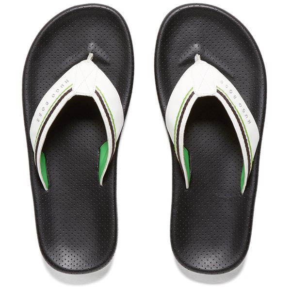 Boss Green Mens Shoreline Fresh Flip Flops Black Herrenschuhe