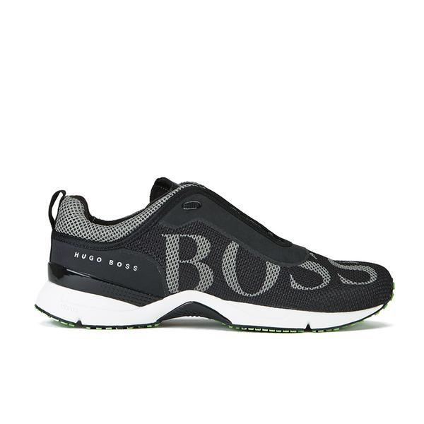 722b023da00 BOSS Green Men s Velox Trainers - Black  Image 1