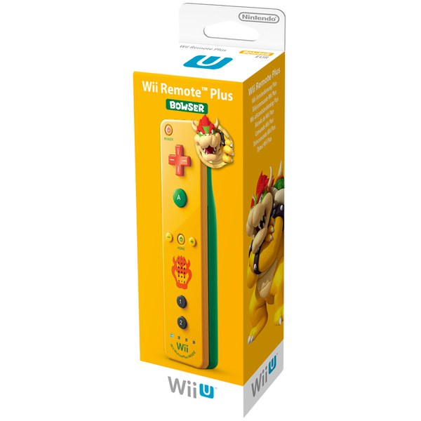 Wii Remote Plus Bowser