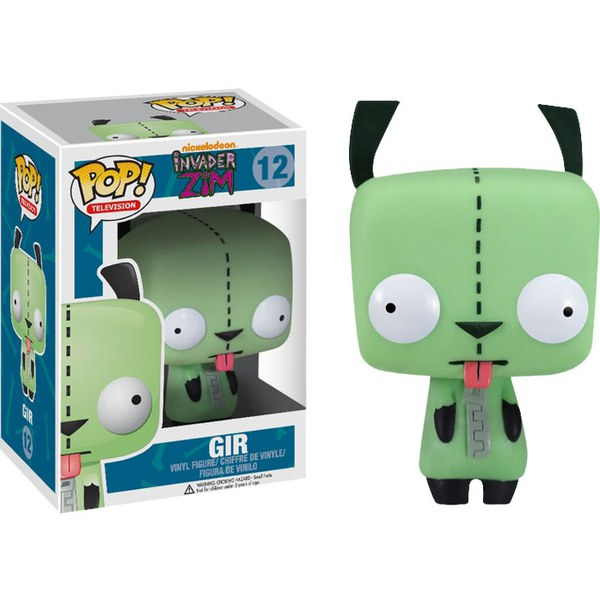 Invader Zim Gir Limited Edition Glow in the Dark Pop! Vinyl