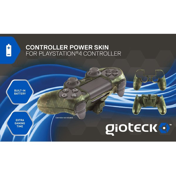Power Skin Gioteck pour PS4 -Camouflage