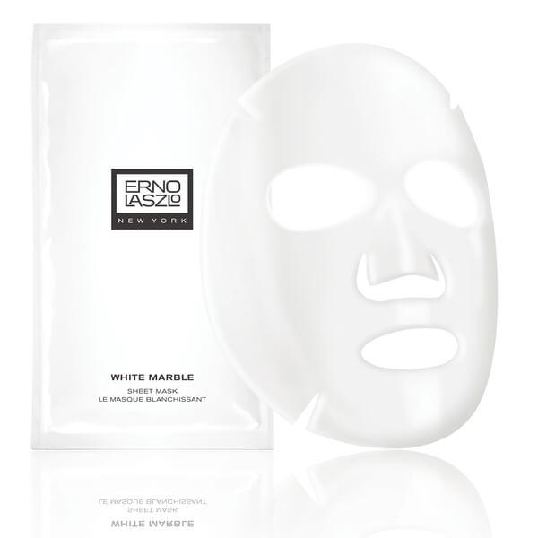 Shhet mask marbre blanc Erno Laszlo